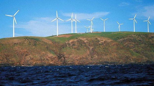 Starfish Hill wind farm, near Cape Jervis, SA